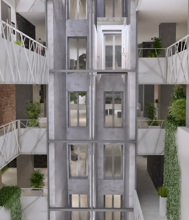 Interior Vox Vertical Village Timișoara Locuințe Premium apartamente vox technology park calea torontalului bloc nou