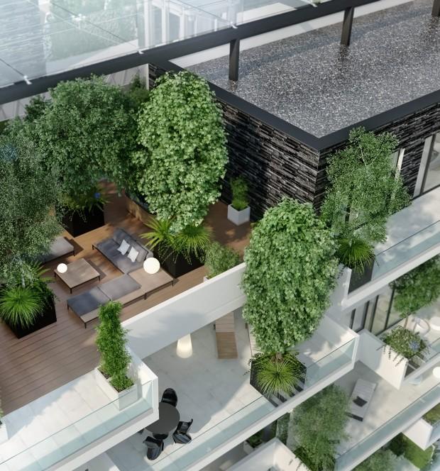 Terase Vox Vertical Village Apartamente Premium în Timișoara